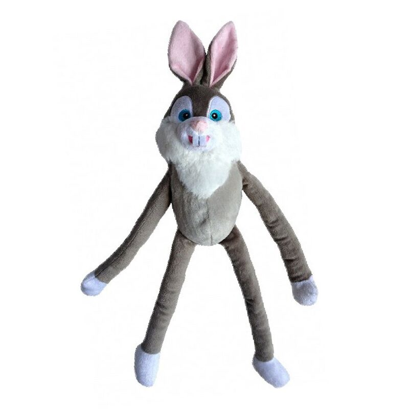 Animate Bertie Bunny Luxury Multi-Squeak Dog Toy