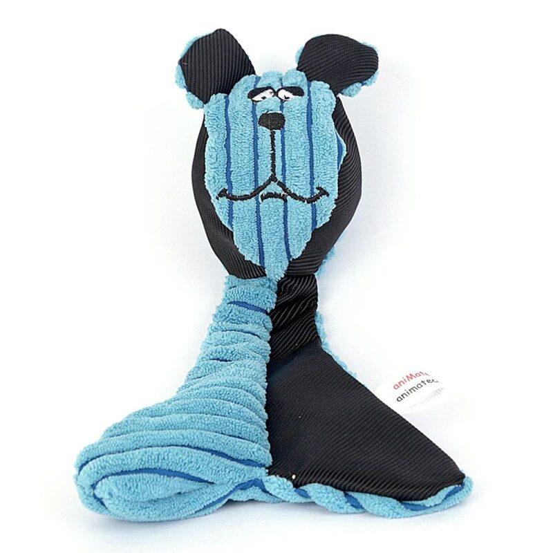 Animate Blue Bear Head Dog Throw Ball