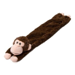 "Animate Brown Monkey Stuffed Head 24"" Multi Squeaker Dog Toy"