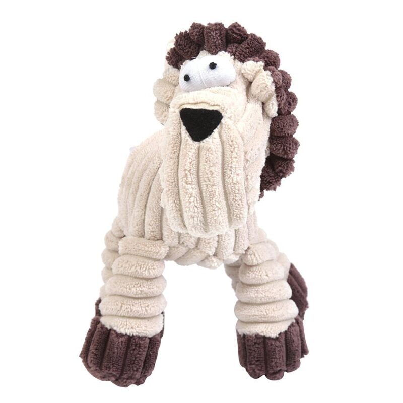 Animate Cream Cord Rope Horse Dog Toy