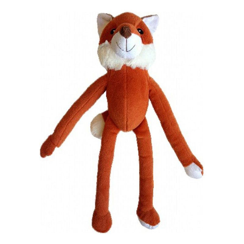 Animate Fred Fox Luxury Multi-Squeak Dog Toy