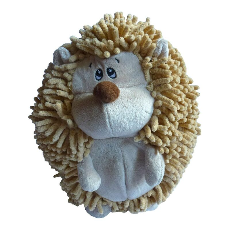 Animate Giant Noodle Hedgehog Squeaky Dog Toy