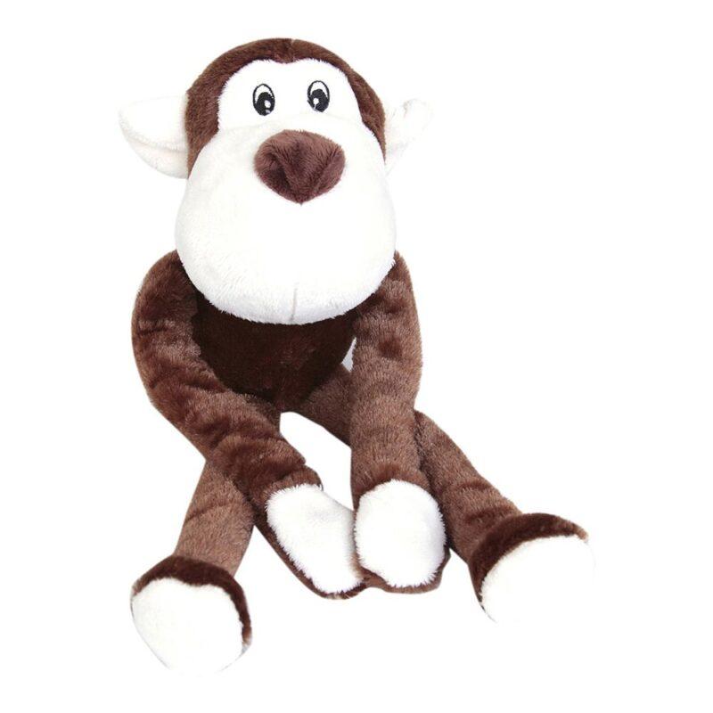 Animate Monkey Luxury Multi-Squeak Dog Toy
