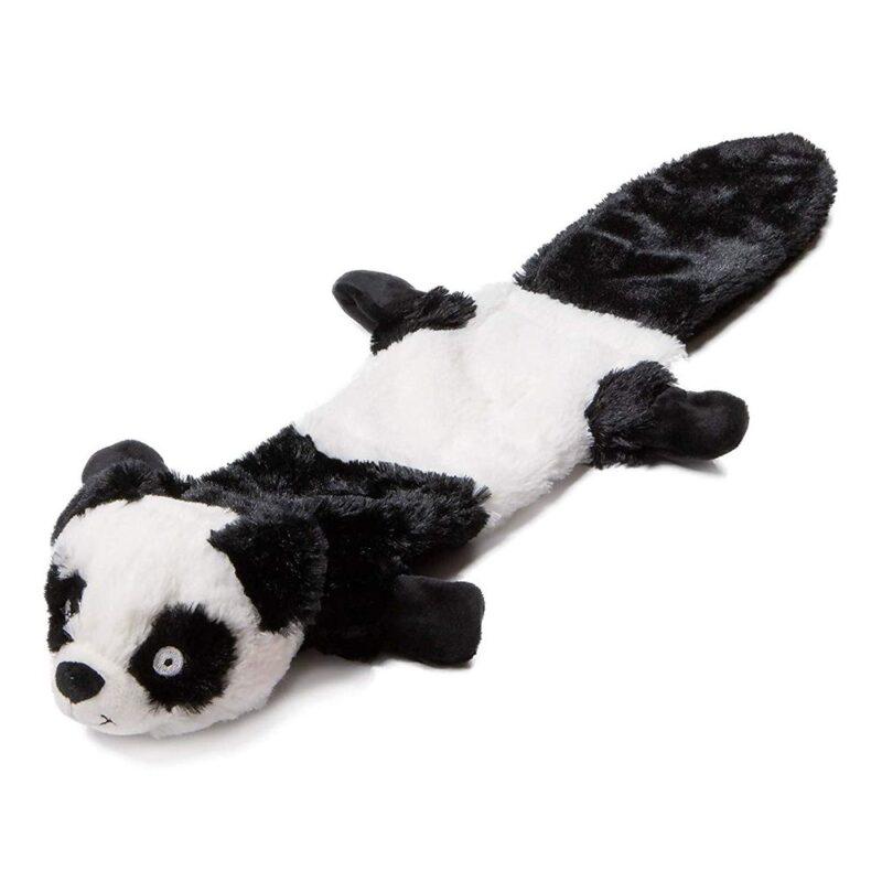 "Animate Panda Stuffed Head Water Bottle 21"" Squeaker Dog Toy"