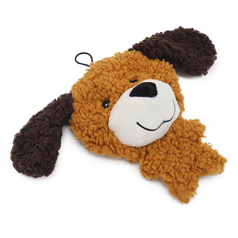 Aromadog Rescue Big Head Stuffingless Flattie Dog Toy
