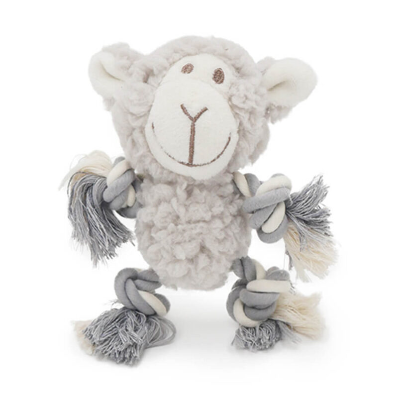 Aromadog Senior Mini Fleece with Rope Arms & Legs Dog Toy