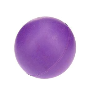 Classic Pet Products Solid Rubber Ball Dog Toy - Medium Purple