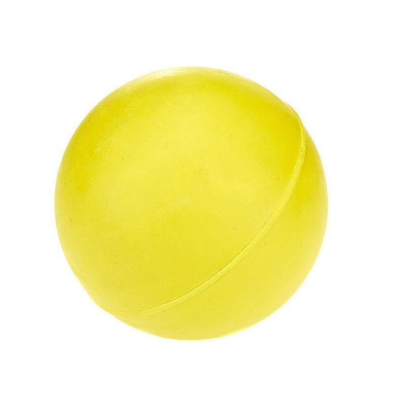 Classic Pet Products Solid Rubber Ball Dog Toy - Medium Yellow