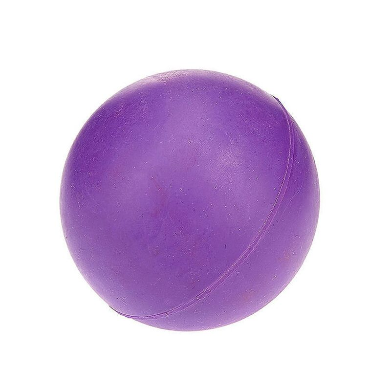 Classic Pet Products Solid Rubber Ball Dog Toy - Small Purple