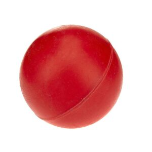 Classic Pet Products Solid Rubber Ball Dog Toy - Small Red