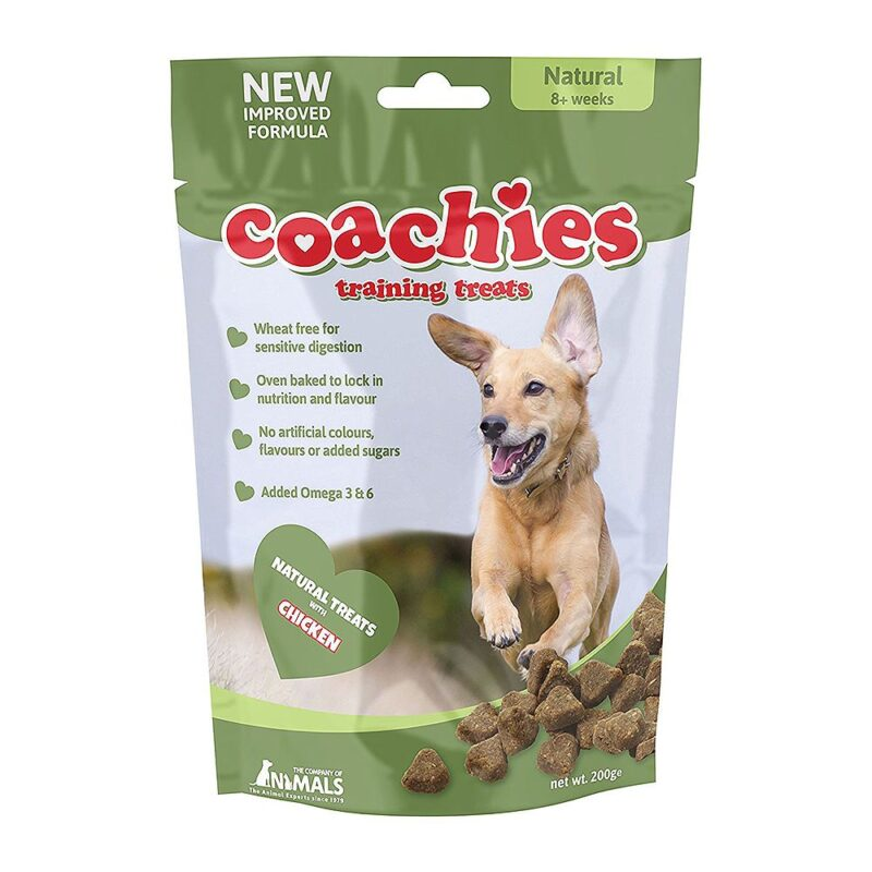 Coachies Dog Training Treats - Natural Wheat Free 200g