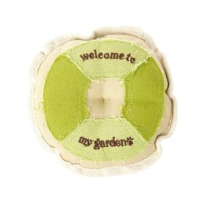 Earthy Pawz Canvas Round Dog Toy