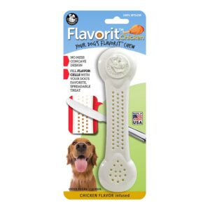 Flavorit Chicken Flavoured Nylon Dog Bone Extra Large