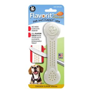 Flavorit Chicken Flavoured Nylon Dog Bone Large