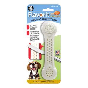Flavorit Chicken Flavoured Nylon Dog Bone Large