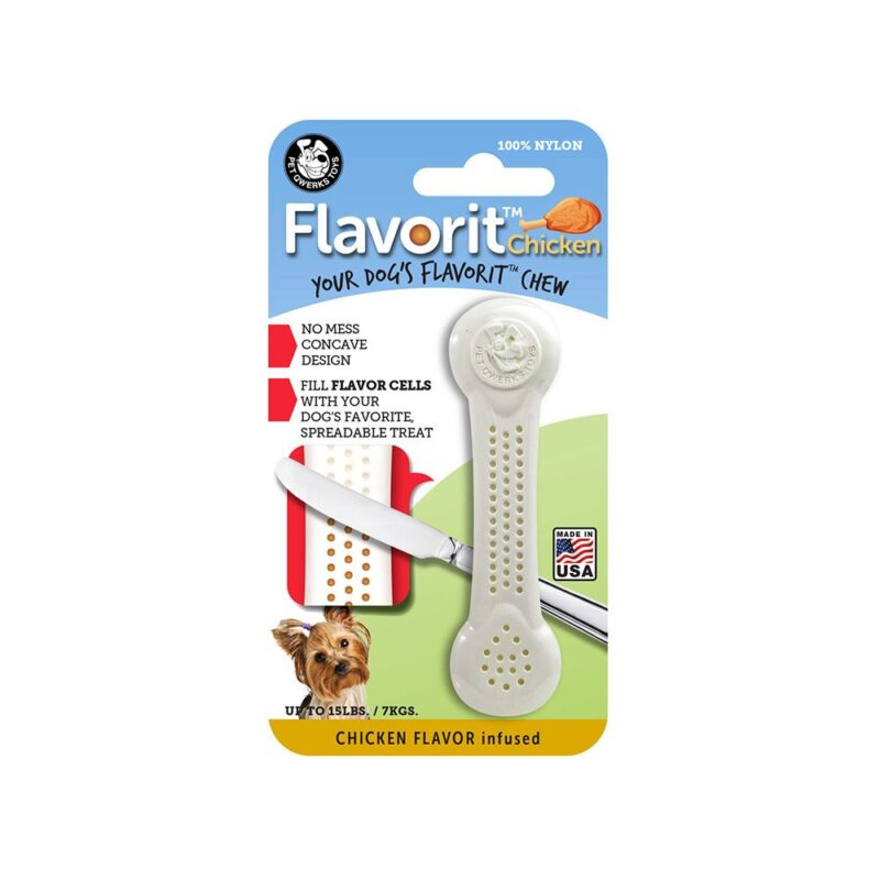 Flavorit Chicken Flavoured Nylon Dog Bone Small