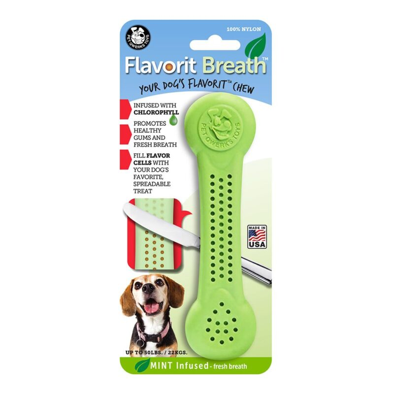 Flavorit Mint Flavoured Nylon Dog Bone Large