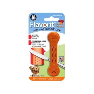 Flavorit Sweet Potato Flavoured Nylon Dog Bone Small