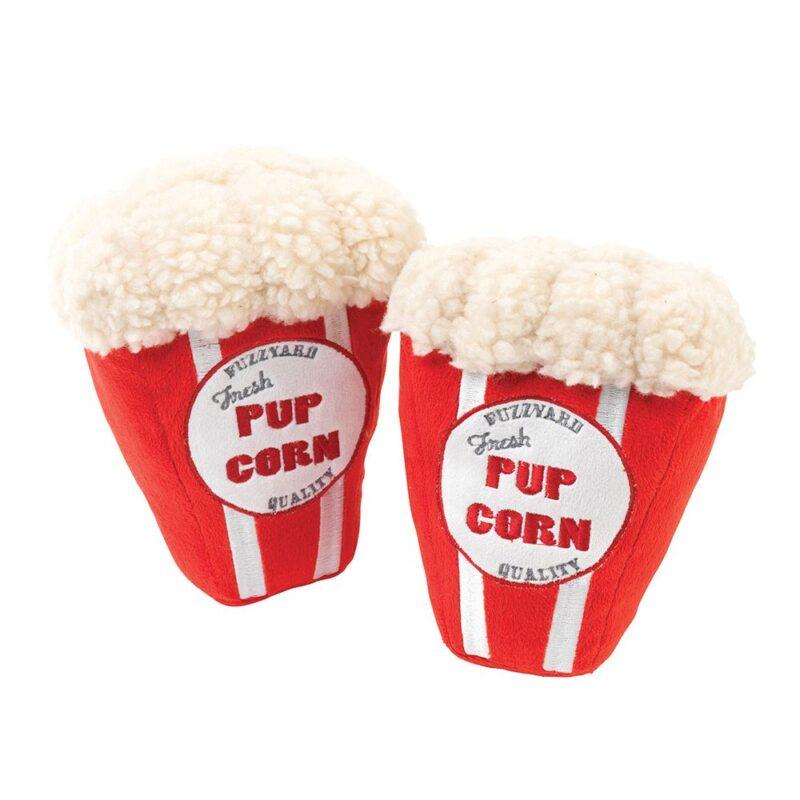 FuzzYard Plush Pupcorn Dog Toy - Small