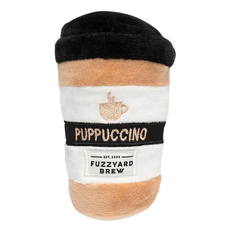 FuzzYard Plush Puppucchino Dog Toy