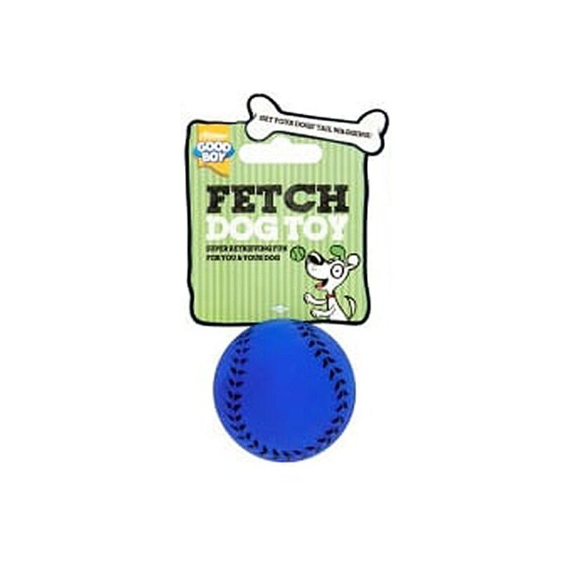 Good Boy Fetch Sports Baseball Dog Toy Small