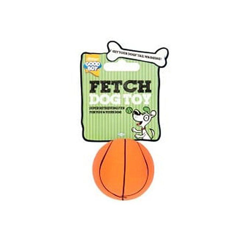 Good Boy Fetch Sports Basketball Dog Toy Small