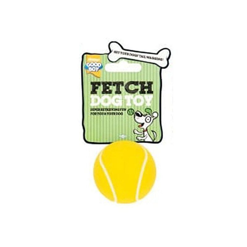 Good Boy Fetch Sports Tennis Ball Dog Toy Small