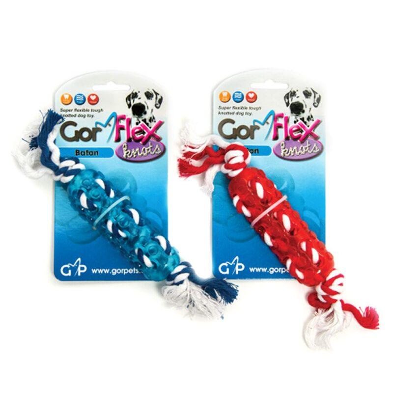 Gor Flex Knots Large Baton Dog Toy