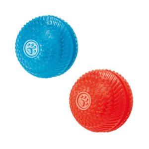Gor Flex Squeak & Treat Ball Dog Toy