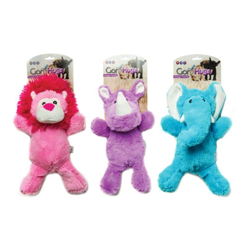Gor Hugs Congo Family Dog Toy