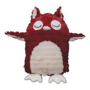 Gor Patchwork Pet Pastel Hoot the Owl Dog Toy 13 inch