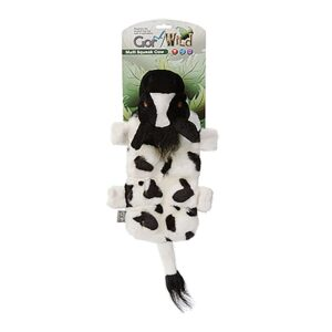 Gor Wild Multi-squeak Cow Dog Toy