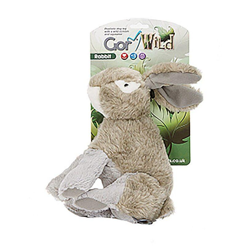 Gor Wild Rabbit Dog Toy