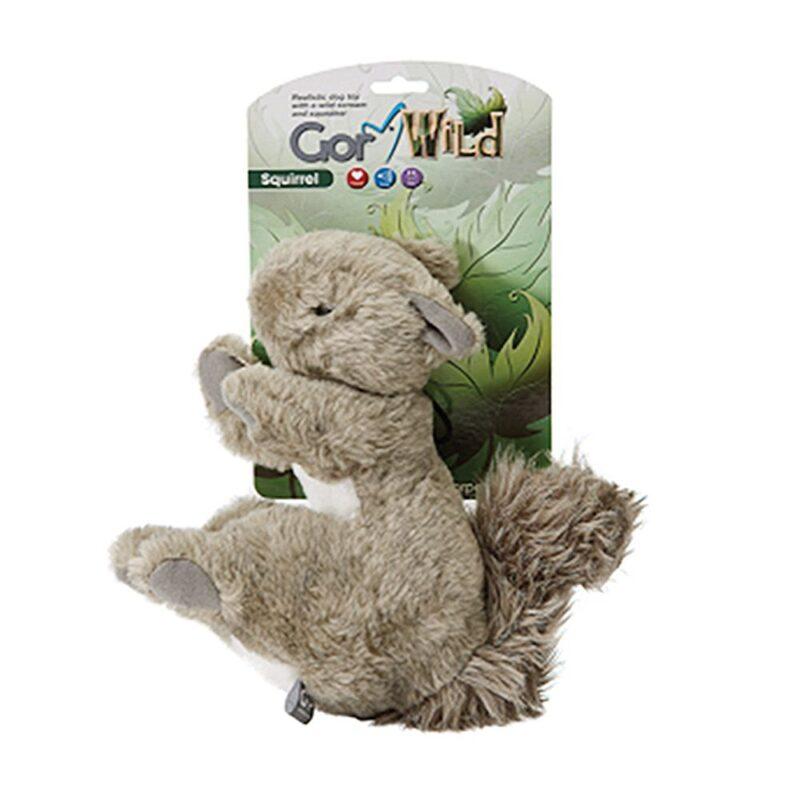 Gor Wild Squirrel Dog Toy
