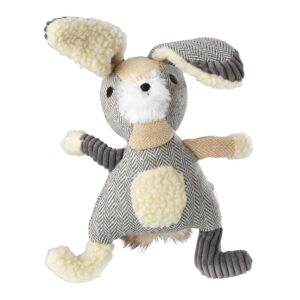 House of Paws Bushy Tail Carry Rope Tweed Hare Dog Toy