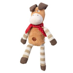 House of Paws Christmas Flappies Donkey Dog Toy