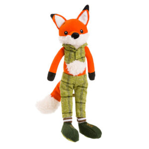 House of Paws Christmas Green Fox Dog Toy