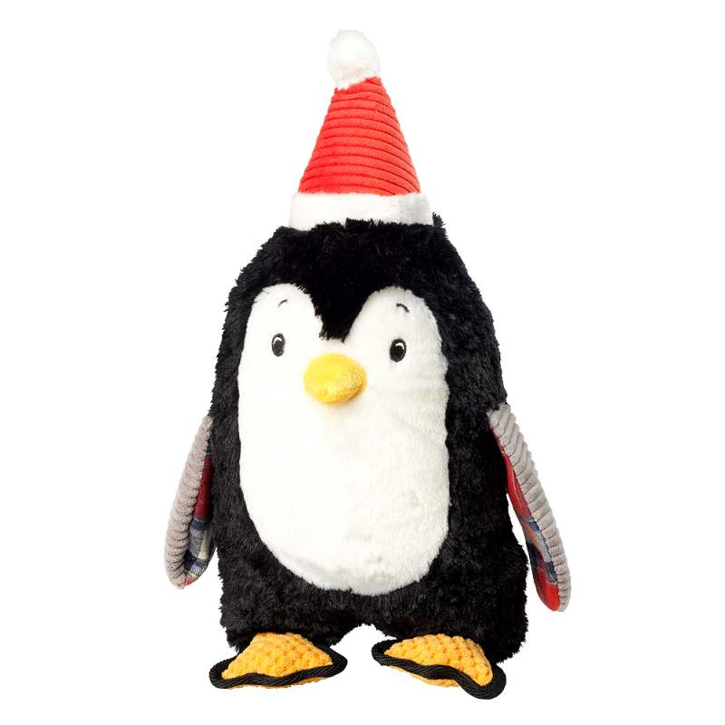 House of Paws Christmas Jumbo Penguin Dog Toy