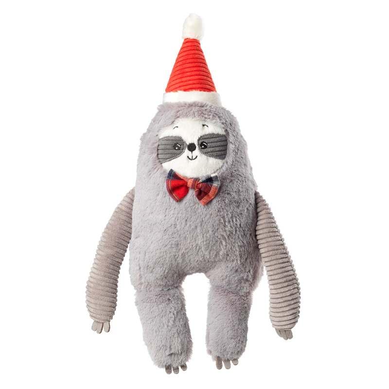 House of Paws Christmas Jumbo Sloth Dog Toy