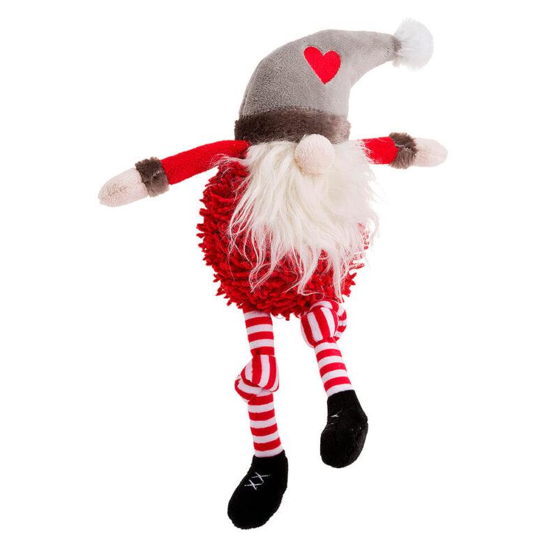 House of Paws Christmas Pom Pom Santa Dog Toy