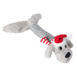House of Paws Christmas Rope Doggy Dog Toy