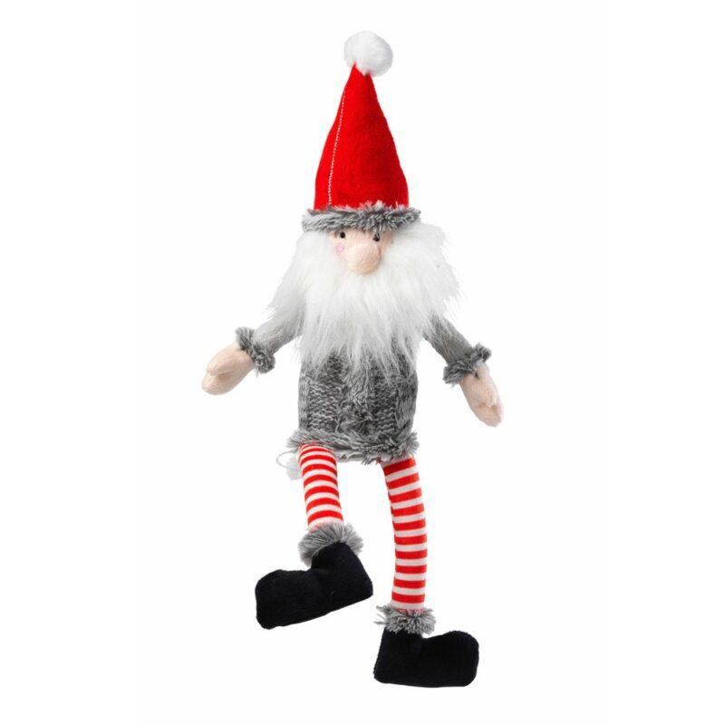 House of Paws Christmas Santa Non-Squeaky Dog Toy