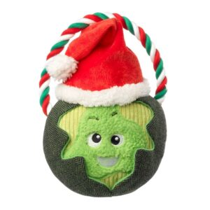 House of Paws Christmas Sprout Rope Dog Toy