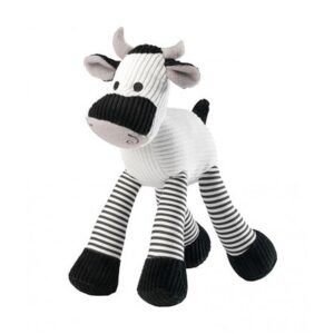 House of Paws Cow Squeaky Dog Toy