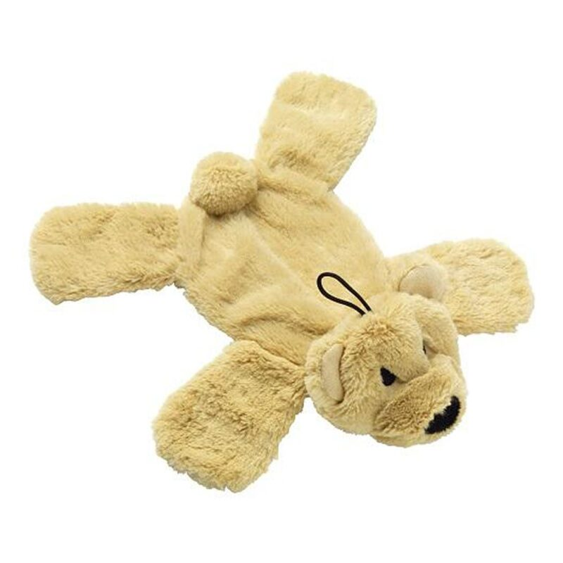 House of Paws Crinkle Noisy Paws Bear Dog Toy