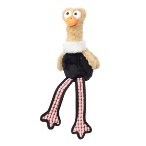 House of Paws Fluffies Ostrich Dog Toy