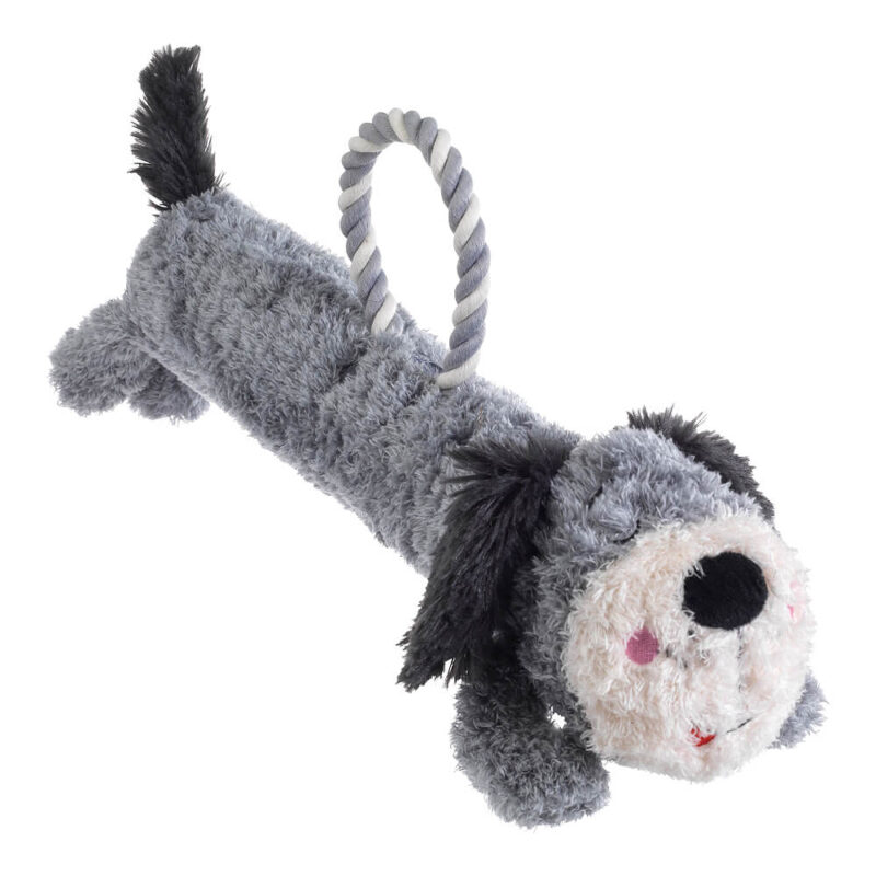 House of Paws Loofa and Rope Dog Toy - Dog