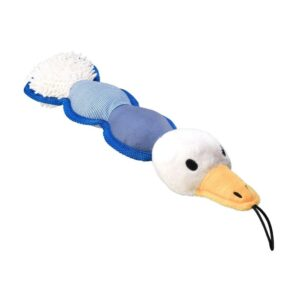 House of Paws Mixed Textured Plush Duck Dog Toy