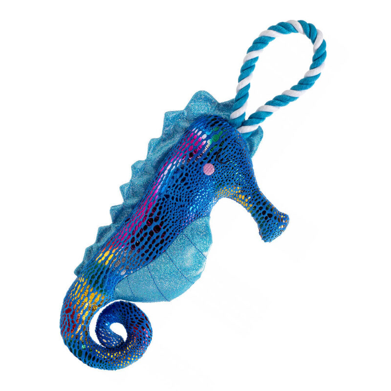 House of Paws Mythical Sea Seahorse Dog Toy