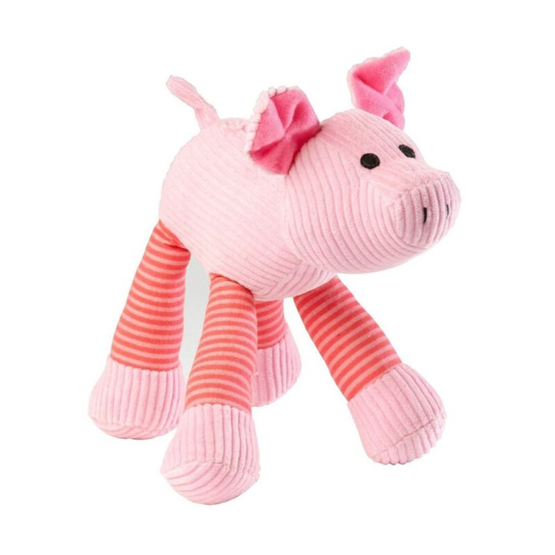 House of Paws Pig Squeaky Dog Toy